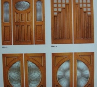 75-pair-of-new-wood-and-beveled-glass-doors