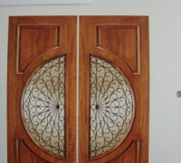 85-pair-of-new-iron-and-wood-doors-with-sidelights