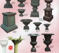 16-new-iron-urns-and-new-iron-birdbath