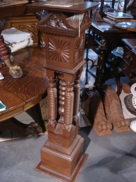Antique Staircase Posts, Pedestals, and Railings in PA