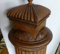 186...antique-large-newel-post