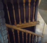 149- 20 ft. staircase and 3 posts