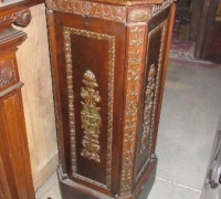 158  - CARVED THEATRE STAND