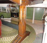 109- sold -antique-inlaid-wood-table