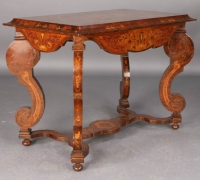 125-sold - antique-inlaid-wood-table