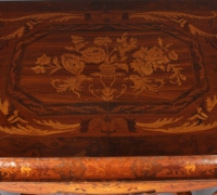 127-sold - antique-inlaid-wood-table