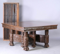 131-antique-carved-table