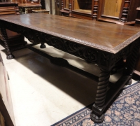 134-antique-carved-barley-twist-table