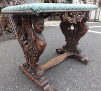 179-sold -antique-carved-table-bench