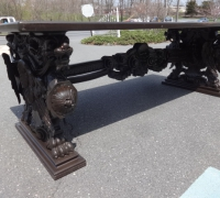 204 -rare-great-antique-carved-table-98-x-42-x-33-h