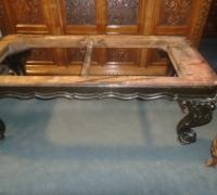 368- 40'' d x82'' l x 30''h - 10 more antique piano leg desks - tables -  All sizes