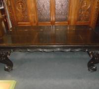 369- 40'' d x82'' l x 30''h - 10 more antique piano leg desks - tables -  All sizes