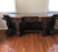 21....GREAT CARVED TABLE...75
