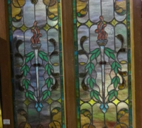 113-  sold - set-of-2-antique-stained-glass-windows-15-in-w-x-46-in-h