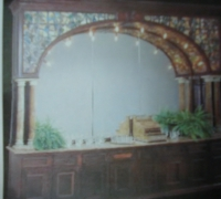 12-rare-tiffany-antique-stained-glass-bar-with-454-jewels-14-4-w-x-10-8-h