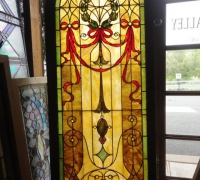 168-  sold - antique-stained-glass-window-40-in-w-x-78-in-h