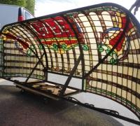 169-sold-rare-antique-canopy-96-in-w-x-30-in-h-x-37-in-d