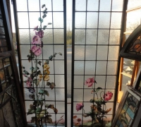 175-  sold - antique-landscape-stained-glass-windows-20-in-x-68-in-h