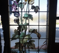 178- sold -antique-landscape-stained-glass-windows-20-in-x-68-in-h