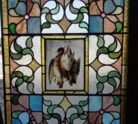 180-sold -antique-stained-glass-window