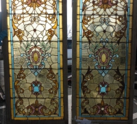 48-set-of-4-pcs-antique-stained-glass-windows-32-in-w-x-72-in-h
