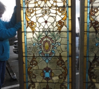 49-set-of-4-pcs-antique-stained-glass-windows-32-in-w-x-72-in-h