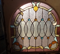 74- sold - antique-stained-glass-window