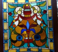 86-antique-stained-glass-window