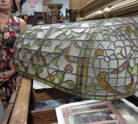 97-rare-2-pc-antique-stained-glass-canopy-44-in-w-x-15-in-h-x-16-in-d